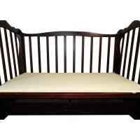 Льняной матрас в детскую кроватку (в хлопковом чехле)