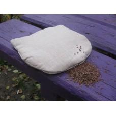 Льняная подушка-грелка
